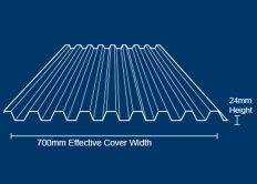 Metrospan Roof Sheet
