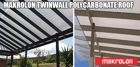 Polycarbonate Twinwall Patio Roofing Materials Gold Coast