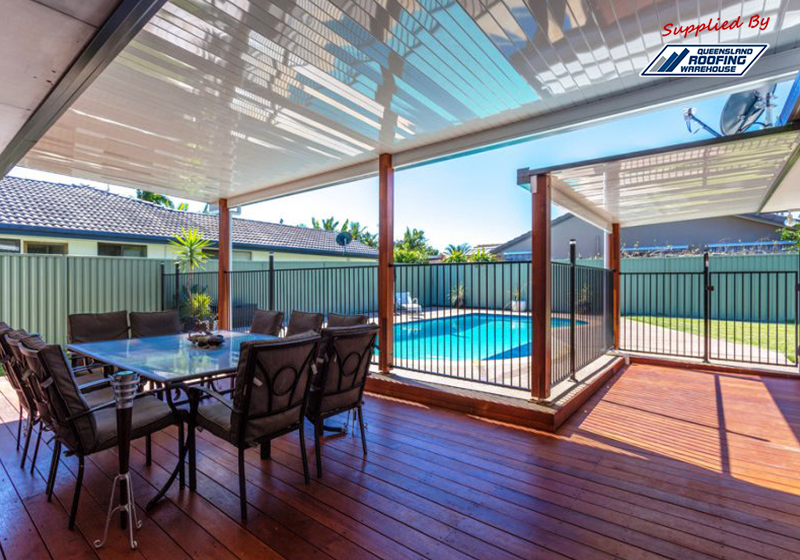 Clever Patios Design With Accommodating Pool, For Gold Coast Living.
